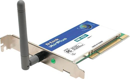 D-Link AirPlus DWL-520+/DWL-650+ Wireless PCI Adapter Drivers