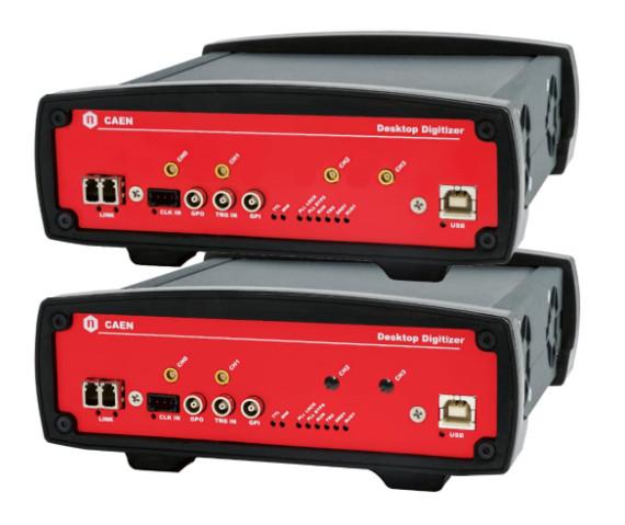CAEN Desktop Waveform Digitizers DT57xx, N67xx, DT55xx Series USB Driver