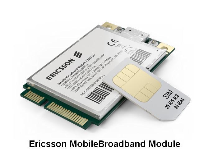 Ericsson MobileBroadband Module Drivers