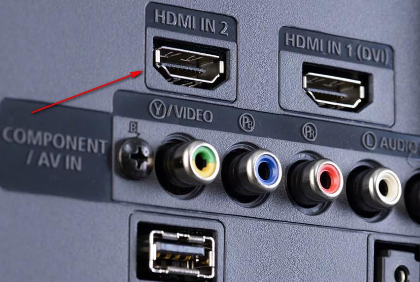 Правильный источник сигнала HDMI