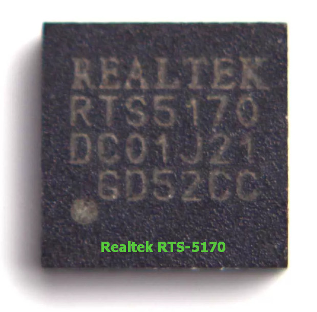 READER CARD RTS5139/RTS5129 MEMORY TÉLÉCHARGER