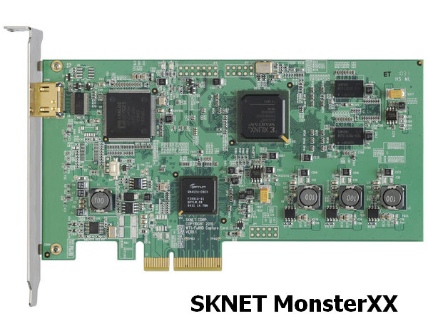 SKNET MonsterXX Capture Device Driver
