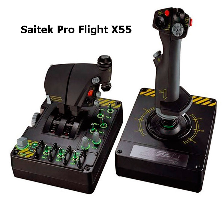 Saitek Pro Flight X55 RHINO Driver