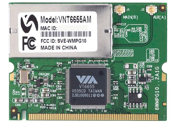 VIA VT6655 WLAN Driver