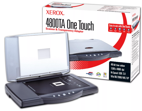 Xerox 4800 Scanner