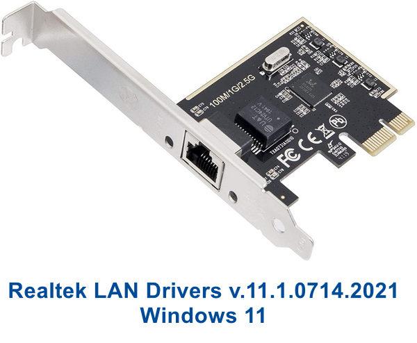 Realtek PCI RTL-81xx LAN Drivers
