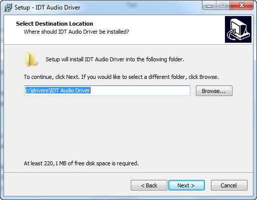 idt 92hd73c1 audio xp driver