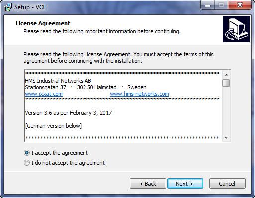 IXXAT VCI DRIVERS WINDOWS XP
